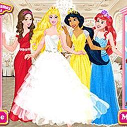 Disney Princess Bridesmaids