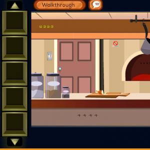 Kitchen Door Escape 3