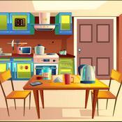 Kitchen Door Escape 4