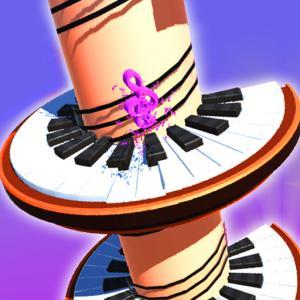 Piano Helix Jump