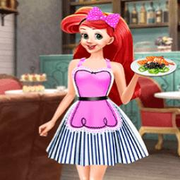 Princess Ariel Breakfast Cooking 3