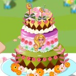 Barbie's Birthday Cake