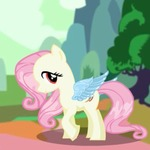Fluttershy Pony Dress Up