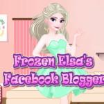Frozen Elsa's Facebook Blogger