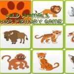 Kids Memory Wild Animals