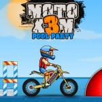 Moto X3m 5: Pool Party