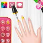 Princess Spring Nail Design
