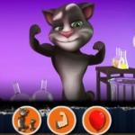 Talking Tom In Laboratory